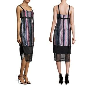 Cinq a Sept Midi Apron Dress
